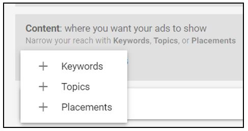 use criteria to target ads on Google without keywords