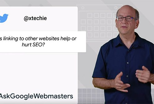 Google #AskGoogleWebmasters: is linking good or bad for SEO?
