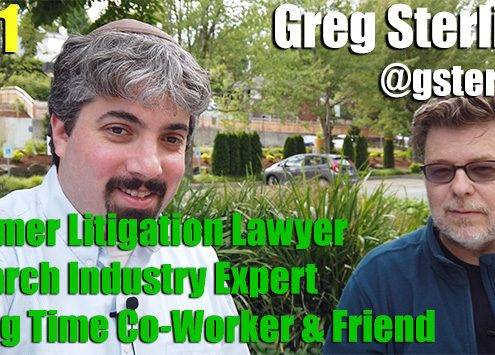 Vlog # 11: Greg Sterling - From litigation attorney to industry expert