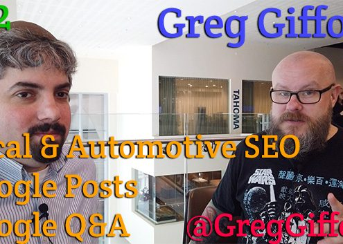 Vlog # 12: Greg Gifford about local SEO, Google Posts and Google Q&A