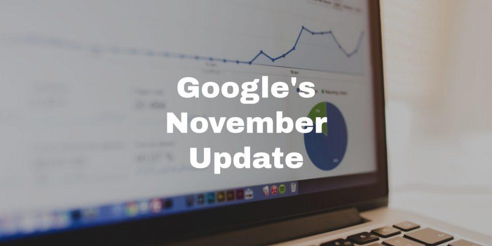 Google November 2019 Update